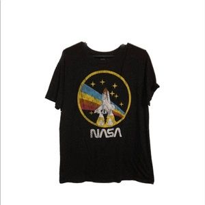 NASA Size Large Black Shirt